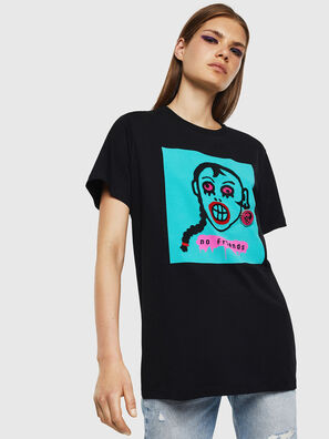 T-DARIA-K, Schwarz - T-Shirts