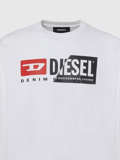 Diesel - S-GIRK-CUTY, Weiß - Sweatshirts - Image 3