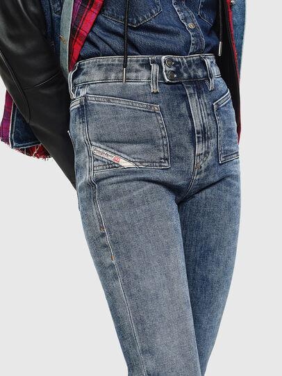 Diesel - D-Earlie 0098W, Mittelblau - Jeans - Image 3