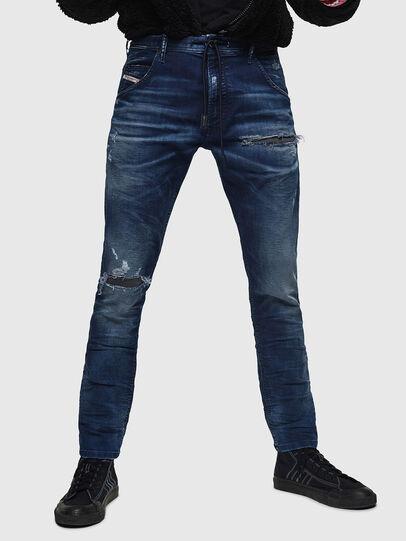 Diesel - Krooley JoggJeans 069JE, Dunkelblau - Jeans - Image 1