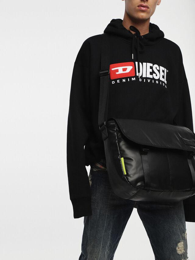 Diesel - F-DISCOVER MESSENGER, Schwarz - Schultertaschen - Image 6