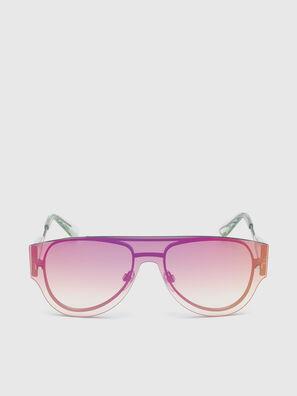 DL0273, Rosa/Weiß - Sonnenbrille