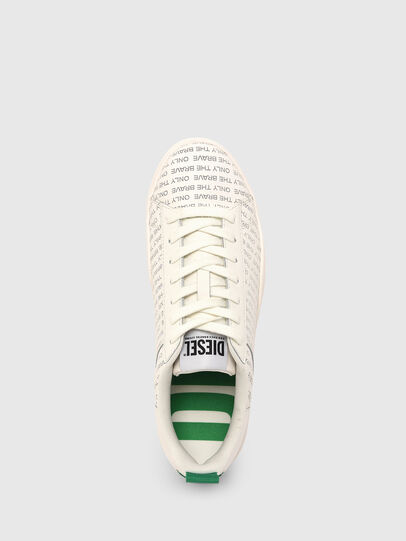 Diesel - S-CLEVER LOW LACE, Weiss/Grün - Sneakers - Image 6