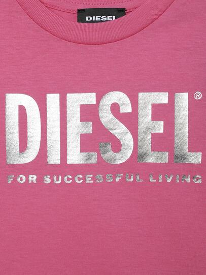 Diesel - TJUSTLOGOB-FL MC-R, Rosa - T-Shirts und Tops - Image 3