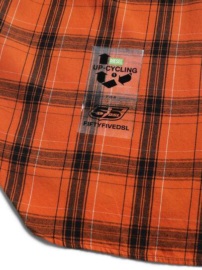 Diesel - D-ANORACHECK, Orange - Hemden - Image 4