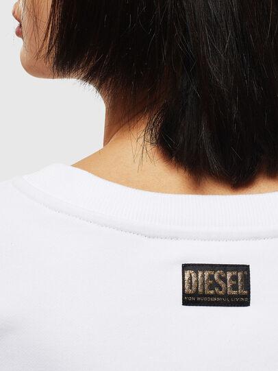 Diesel - CL-F-MAGDA-BIGM, Weiß - Sweatshirts - Image 4