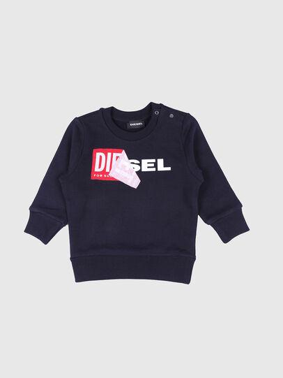 Diesel - SALLIB, Marineblau - Sweatshirts - Image 1