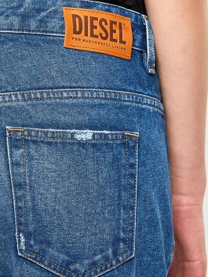 Diesel - Fayza 0079R, Mittelblau - Jeans - Image 4