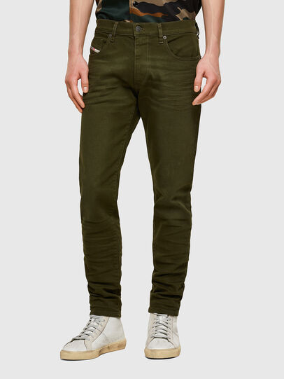 Diesel - D-Strukt 009ZF, Armeegrün - Jeans - Image 1