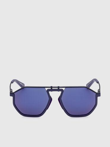 Pilot-Sonnenbrille aus Metall und Spritzguss