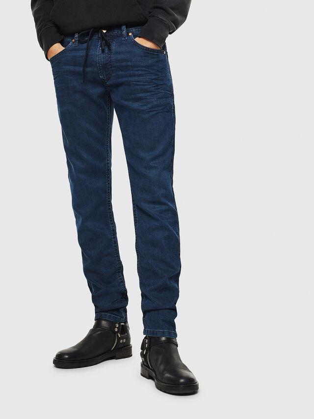 Diesel Thommer JoggJeans 0688J, Mittelblau - Jeans - Image 1