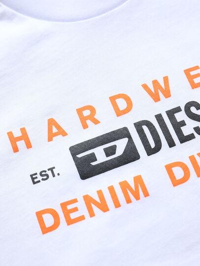 Diesel - TDIEGOSK32, Weiß - T-Shirts und Tops - Image 3