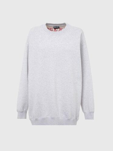 Sweatshirt mit Brave-Stickerei