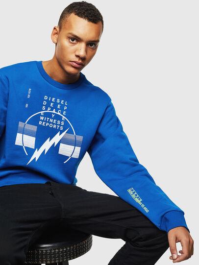 Diesel - S-GIRK-J2, Blau - Sweatshirts - Image 4