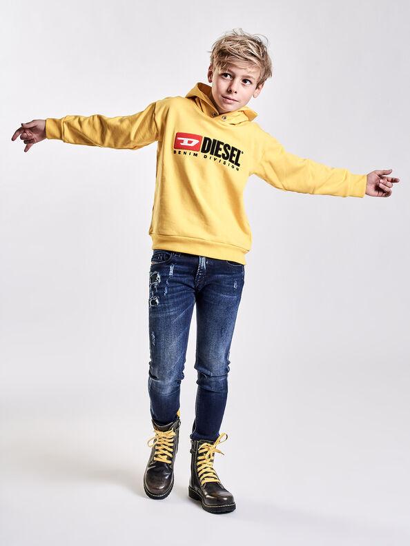 SDIVISION OVER, Gelb - Sweatshirts