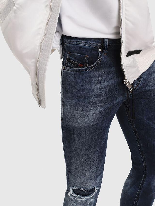 Diesel - Thommer JoggJeans 069AA, Mittelblau - Jeans - Image 3