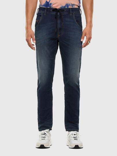 Diesel - KROOLEY JoggJeans® 069NE, Dunkelblau - Jeans - Image 1