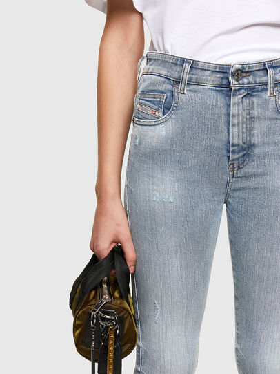Diesel - Slandy High 009TG, Hellblau - Jeans - Image 3