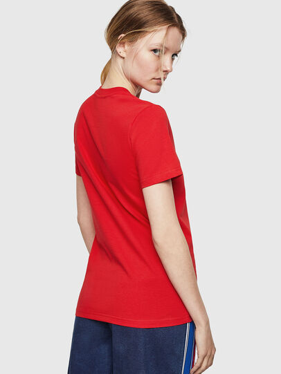 Diesel - T-SILY-ZE, Feuerrot - T-Shirts - Image 2