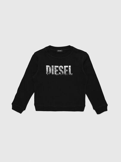 Diesel - SRALY, Schwarz - Sweatshirts - Image 1