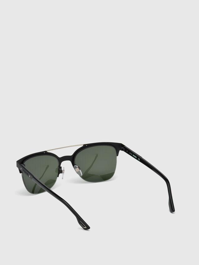 Diesel - DL0215, Schwarz - Sonnenbrille - Image 4