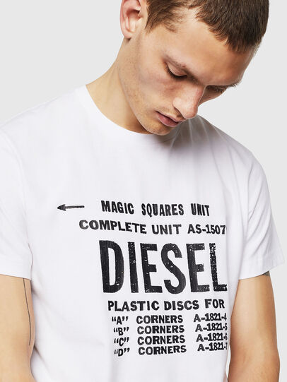 Diesel - T-DIEGO-B6, Weiß - T-Shirts - Image 3