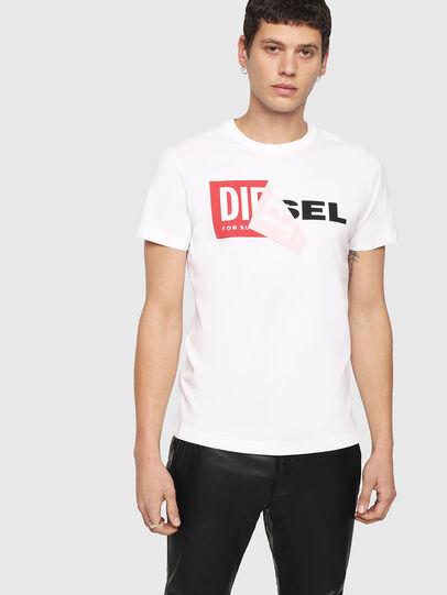 Diesel - T-DIEGO-QA, Weiß - T-Shirts - Image 1