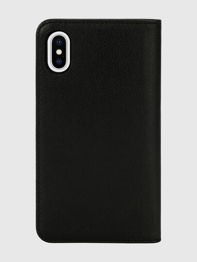 Diesel - DIESEL 2-IN-1 FOLIO CASE FOR IPHONE XS & IPHONE X, Schwarz/Weiß - Klappcover - Image 2