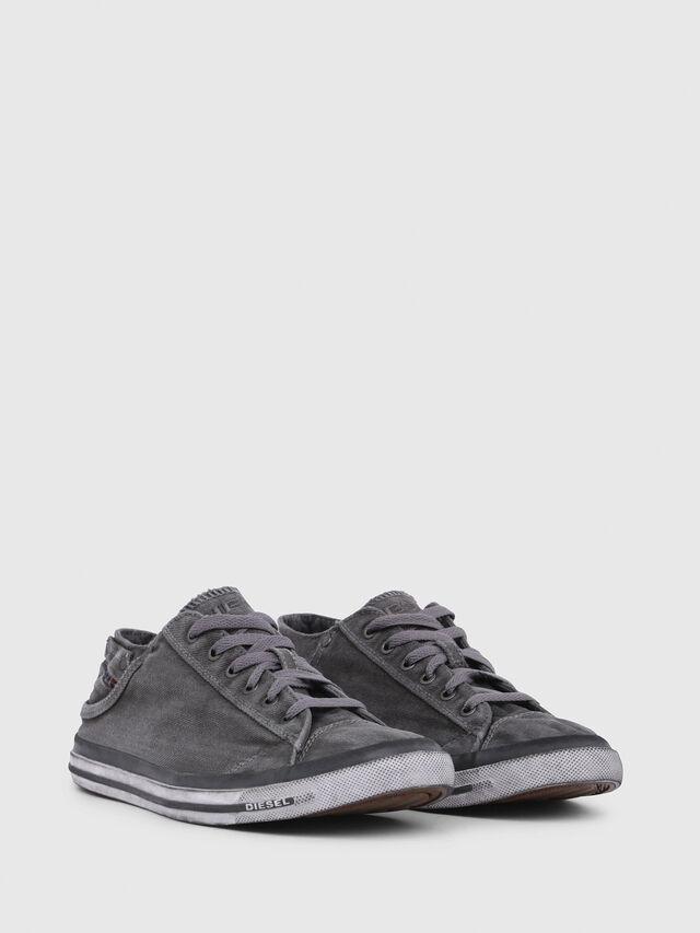 Diesel EXPOSURE LOW I, Silbergrau - Sneakers - Image 2