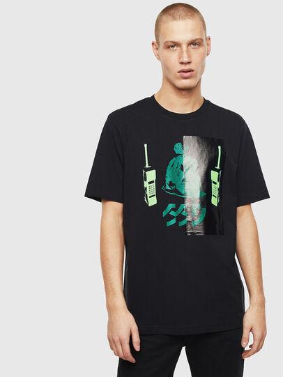 Diesel - T-JUST-T30, Schwarz - T-Shirts - Image 1