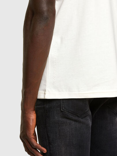 Diesel - T-DORYMO-A1, Weiß - T-Shirts - Image 3