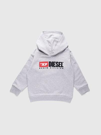 Diesel - SDIVISION OVER, Grau - Sweatshirts - Image 1