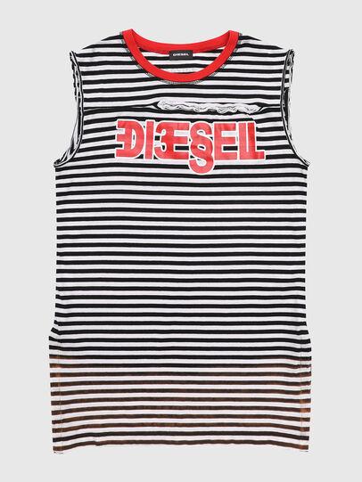 Diesel - TART, Schwarz/Weiß - T-Shirts und Tops - Image 1