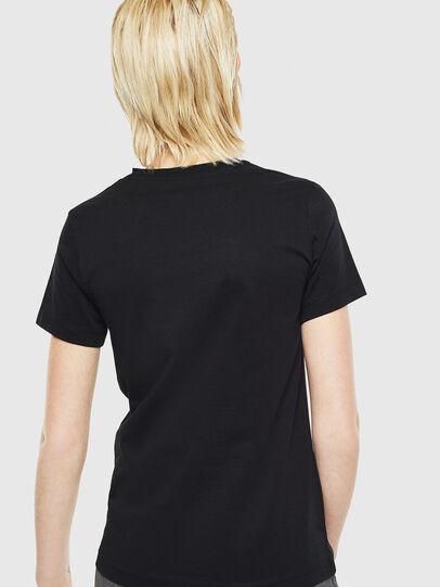 Diesel - T-SILY-YD, Schwarz - T-Shirts - Image 2