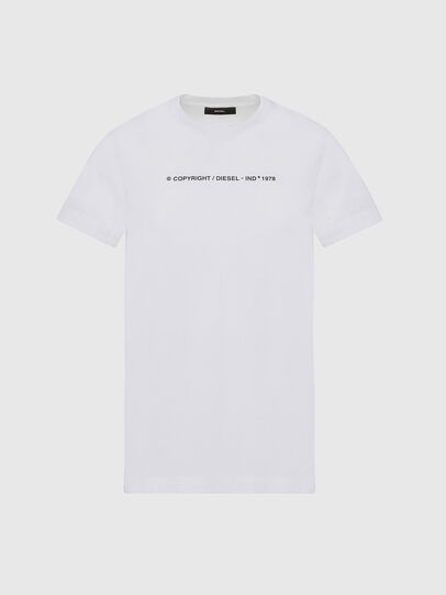 Diesel - T-SILY-COPY, Weiß - T-Shirts - Image 1