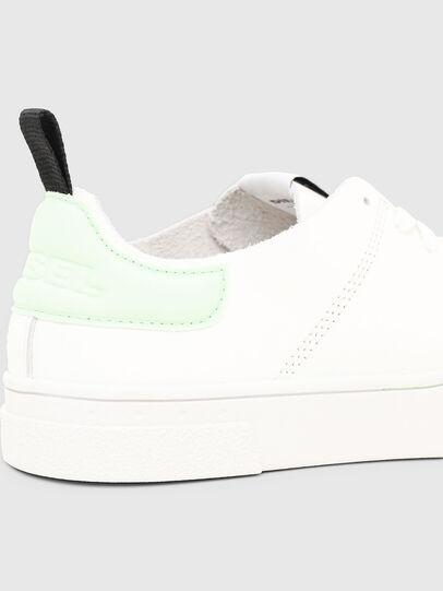 Diesel - S-CLEVER LS W, Weiß/Grün - Sneakers - Image 5