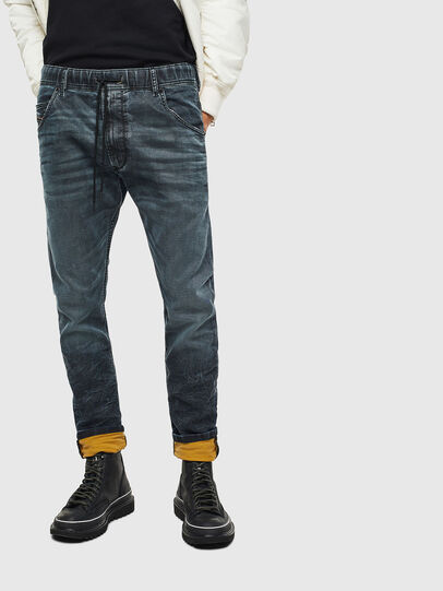 Diesel - Krooley JoggJeans 069MD, Dunkelblau - Jeans - Image 3