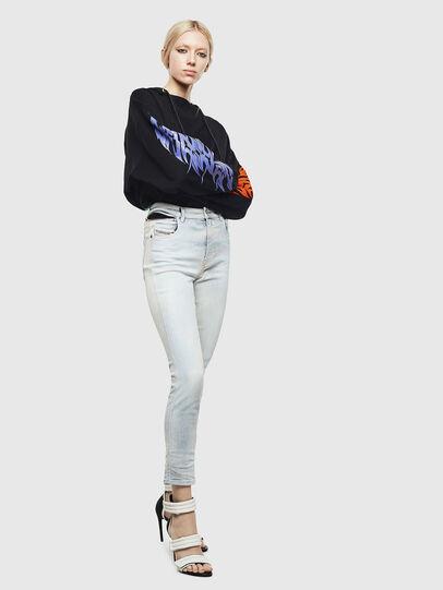 Diesel - Babhila High 009AX, Hellblau - Jeans - Image 7
