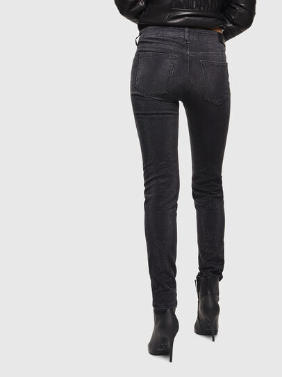Diesel - D-Ollies JoggJeans 0093H, Schwarz/Dunkelgrau - Jeans - Image 2