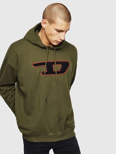 Diesel - S-DIVISION-D, Armeegrün - Sweatshirts - Image 1