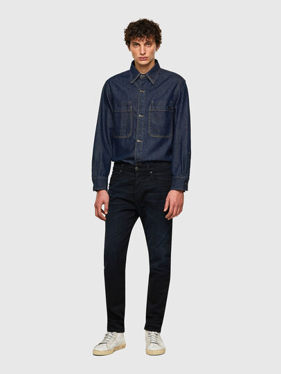Diesel - D-Fining-Chino 084AY, Dunkelblau - Jeans - Image 4