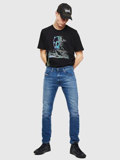 Diesel - Thommer 0097X, Mittelblau - Jeans - Image 6