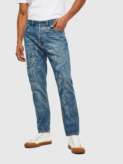 Diesel - D-Vider 0079D, Mittelblau - Jeans - Image 1