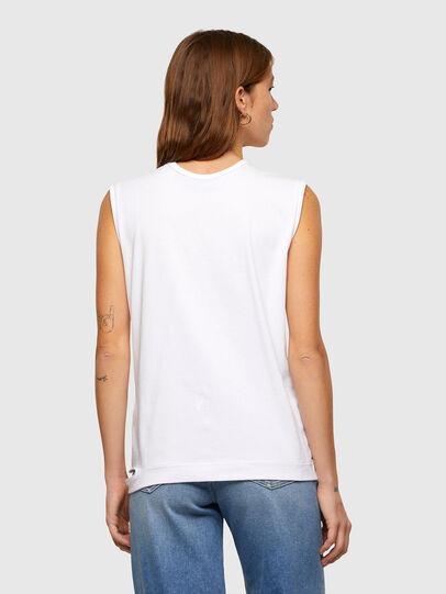 Diesel - T-BULL, Weiß - T-Shirts - Image 2