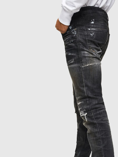 Diesel - Thommer JoggJeans 0098E, Schwarz/Dunkelgrau - Jeans - Image 4