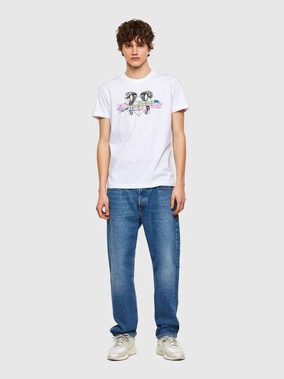 Diesel - T-DIEGOS-E35, Weiß - T-Shirts - Image 4