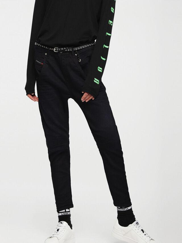 Diesel - Fayza JoggJeans 0829P, Dunkelblau - Jeans - Image 1