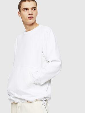 S-MENKOV, Weiß - Sweatshirts