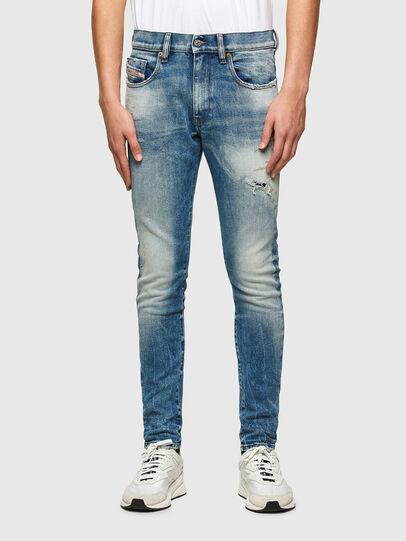Diesel - D-Strukt 009MW, Mittelblau - Jeans - Image 1