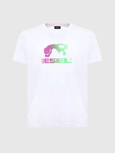 T-Shirt mit Verlaufsdruck